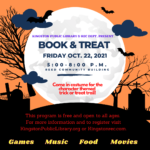 Book and Treat!