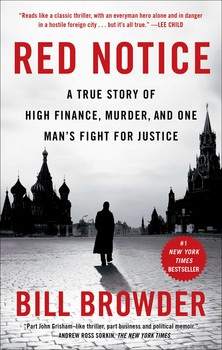 Book Cover Red Notice by Bill Browder