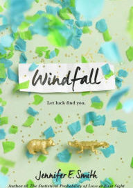 Book Cover - Windfall by Jennifer Smith
