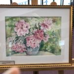 March Gallery and Display Case Exhibit - 'A Preview of Spring: Floral Watercolors' by Patricia Flaherty
