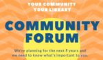 July 30th 2pm & 7pm - Community Forum