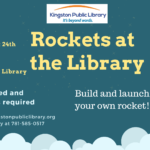 August 24th at 10:30 - Rockets at the Library