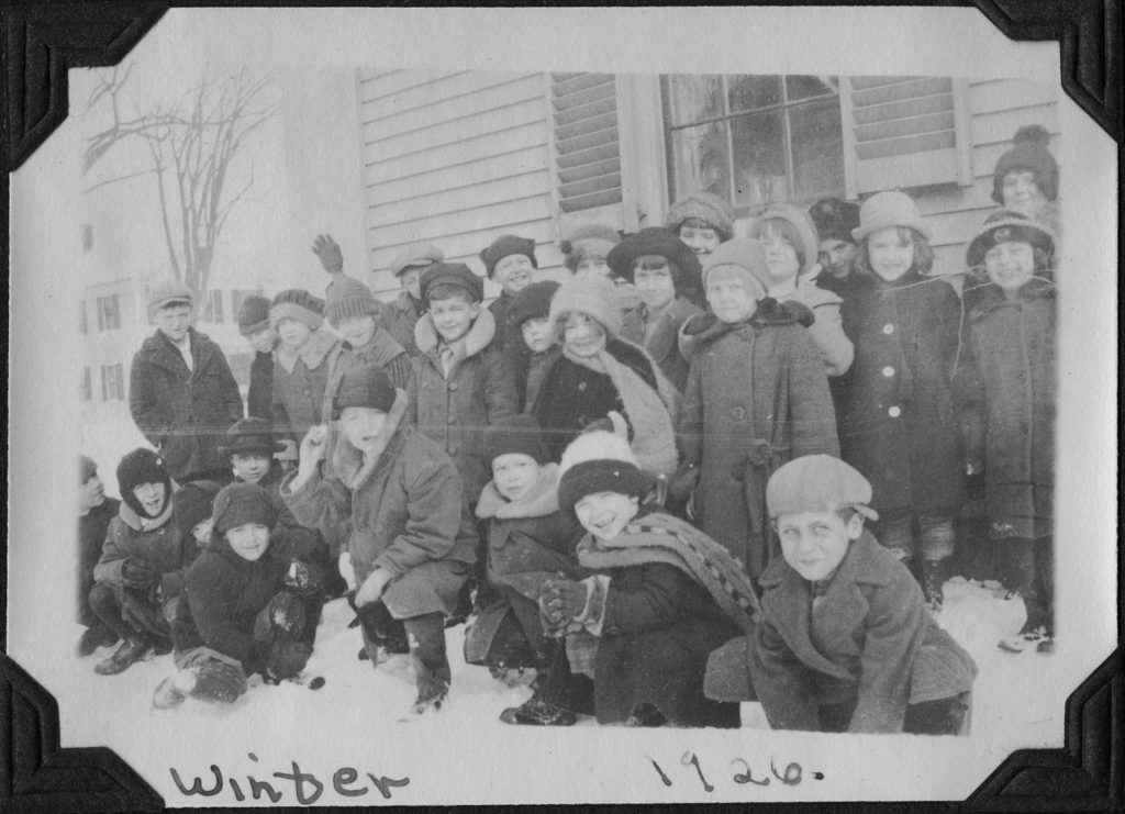 Group of school children, 1926