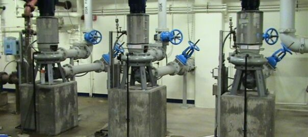 Sewer department photo of pumping equipmint