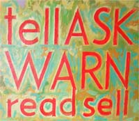 tell ask warn read sell