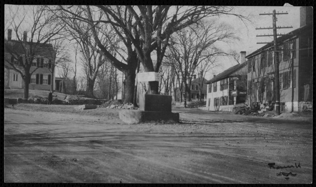 The Henry R. Glover Water Trough at the Point, Main Street and Summer Street, c. 1925