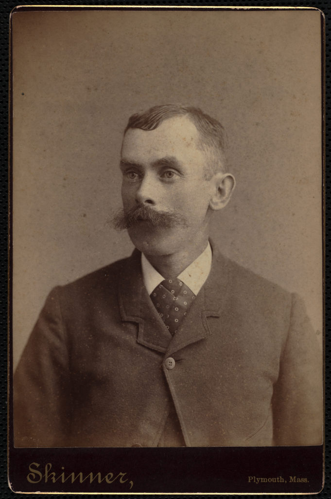 Portrait of Fred Brackett, undated