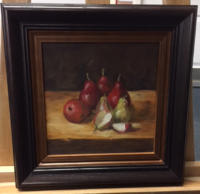 Still life - apples and pears
