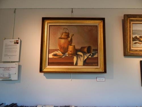 Still life - teapot with other containers