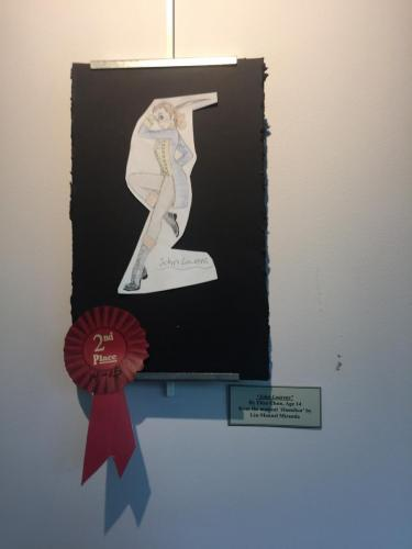 John Laurens by Eliza Chun 2nd place
