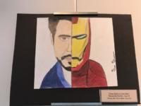 Tony Stark from Iron Man fan art