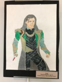"Loki from ""Thor"" fan art"