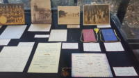 "A collection of dance cards and letters from the ""Shall we Dance"" exhibit"
